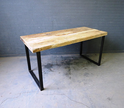 Industrial Chic Reclaimed Custom Office Desk / Bar Table 371