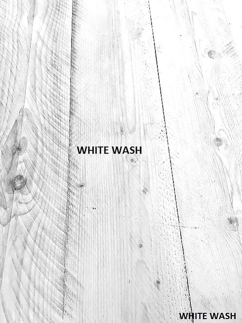 Reclaimed Timber Sample - WHITEWASH