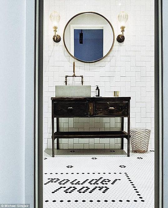 Reclaimed Industrial Rustic Bathroom Basin Washstand Sideboard with Drawer 564