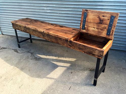 Industrial Chic Reclaimed Custom School Desk 186