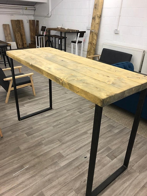 ***IN STOCK*** RECLAIMED TALL TABLE IN OIL