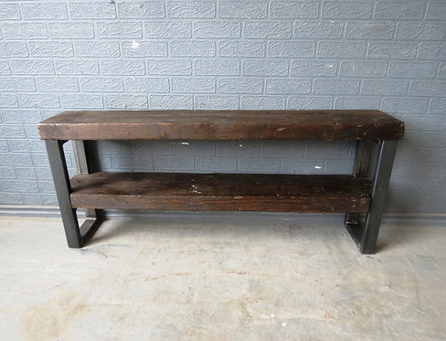 Industrial Chic Style Reclaimed Custom Coffee Table TV Unit 204