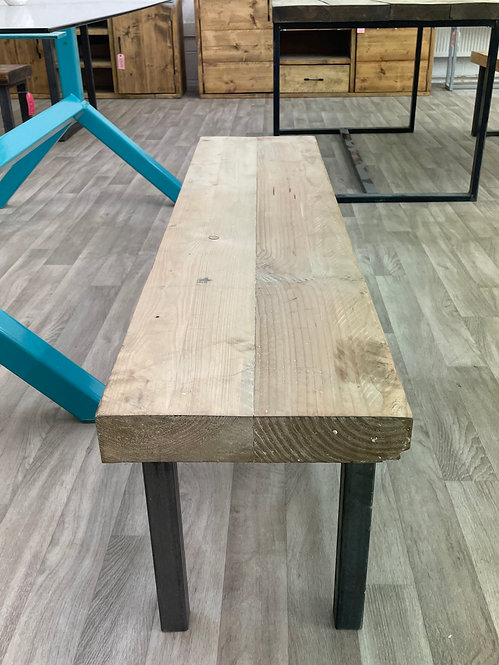 ***IN STOCK*** RECLAIMED TIMBER BENCH IN WAX