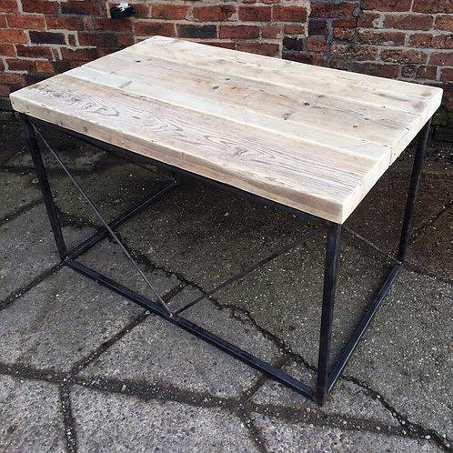 Industrial Chic Reclaimed Custom Office Desk / Bar Table 082