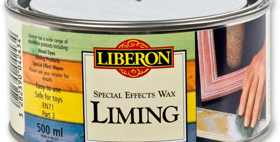 250ml Liming Wax for use with Lime and Whitewash timber products