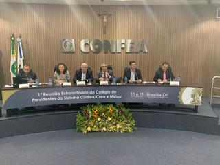 Reunidos em Brasília, presidentes de Creas defendem anuidade para os conselhos profissionais