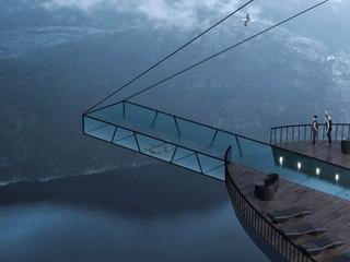 A piscina infinita mais incrível do mundo