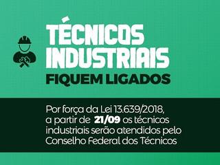 Técnicos industriais deixam o Sistema Confea/Crea