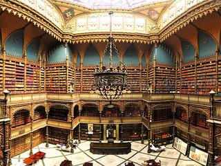 Uma das bibliotecas mais lindas do mundo fica no Brasil
