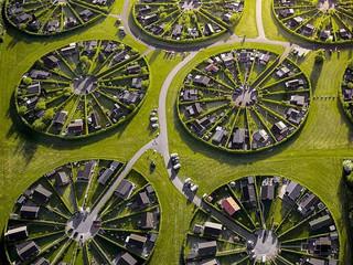 Dinamarca tem projeto de condomínios residenciais circulares