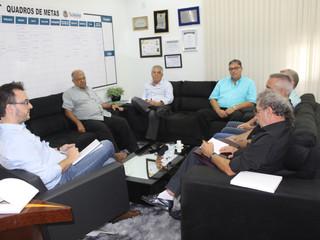 Diretoria da AEAS se reúne com prefeito Luiz Dalben