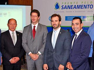 Frente mista em defesa do saneamento básico foi lançada hoje em Brasília