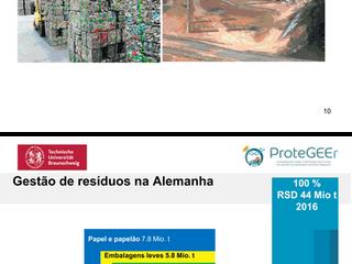 """""""Gestão de Resíduos na Alemanha e as Sinergias com o Brasil""""  Dra. Christiane Dias Pereira"""