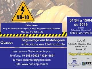 Curso: Segurança em Instalações e Serviços em Eletricidade