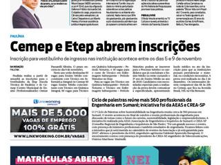 Ciclo de Palestras - Jornal Tododia