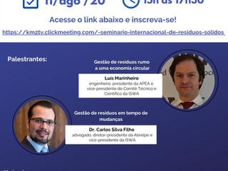 Seminário Internacional de Resíduos Sólidos da AEAS segue no dia 11