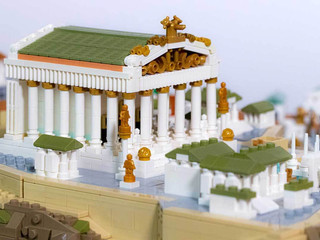 LEGO da Roma Antiga recria a capital do Império