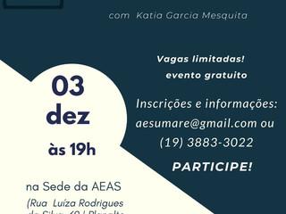 Palestra 03/12/2019 - Participem !!!