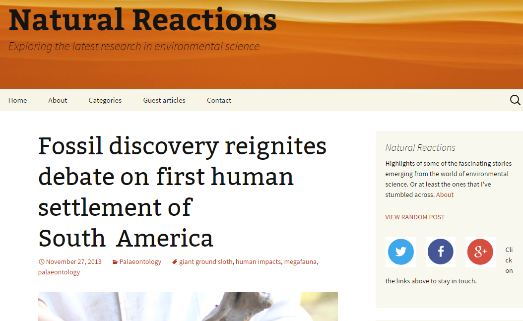 Natural Reactions | Blog