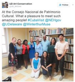 UD ArtCons | Visit to Cuba