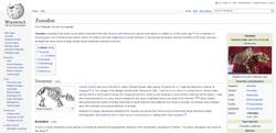 Toxodon article | Wikipedia