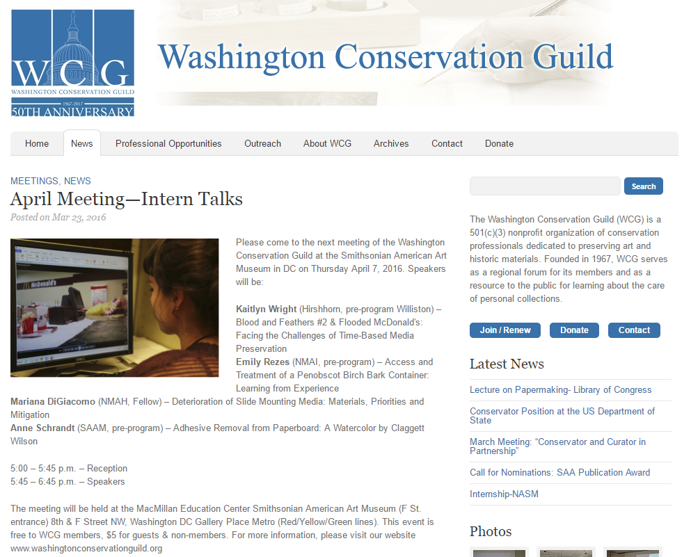 Washington Conservation Guild
