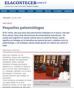 El Acontecer | Local Newspaper