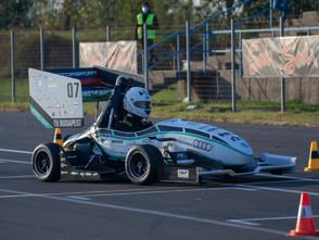 Kecskeméten tesztelt a BME Motorsport csapata