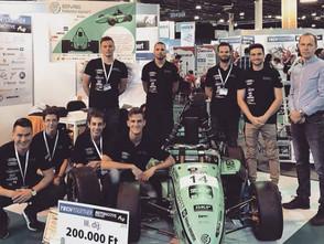 Dobogós helyezést ért el a BME Motorsport a Techtogether Online mérnökhallgatói versenyen