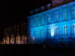 Eclairage de la façade du Château de Reichshoffen