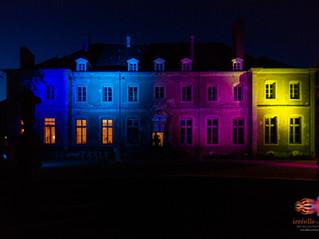 Eclairage de la façade du Château de Saulxures-lès-Nancy