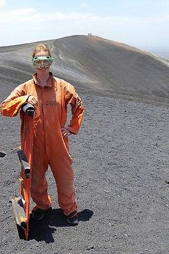 volcano boarding cerro negro leon nicaragua