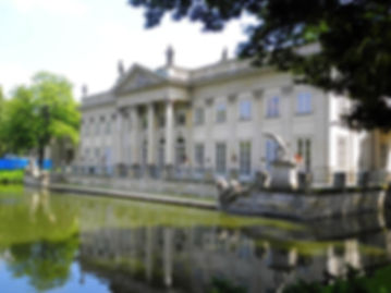 Palace Lakienki, warsaw, poland