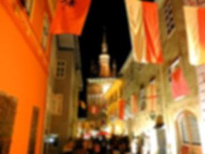 Medieval festival, sighisoara, romania