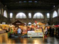 zurich, switzerland, market, train station, bahnhof