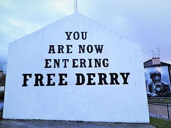 Free Derry corner, derry, northern ireland