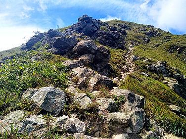 hong kong, hiking, trail, mountain, view, scenery, lantau