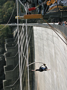 goldeneye, bungee jump, locarno, dam, switzerland