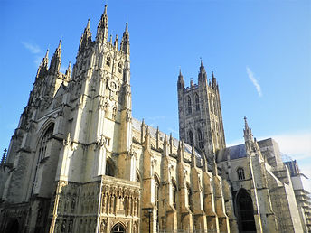 Canterbury cathedral, england, church