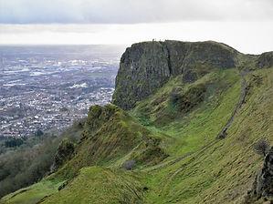 Cave hill, belfast, ireland