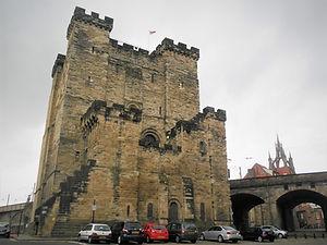 Newcastle, castle, England