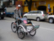 cyclo, ho chi minh city, vietnam