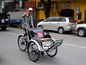 cyclo, ho chi minh city, vietnam