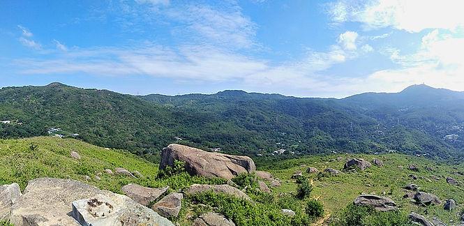hong kong, trail, mountain, hiking, view, ha fa shan, new territories
