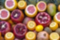 pomegranate, fruit, citrus