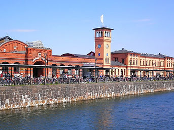 malmo, sweden, train station