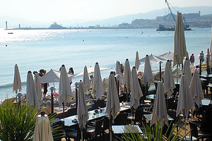 france, cannes, beach, water