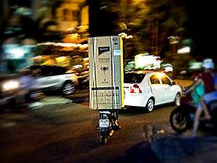 saigon, ho chi minh city, scooter, motorbike