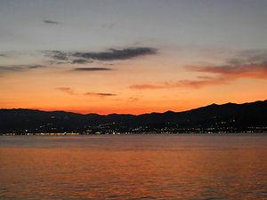 Sunset, Sicily, italy, sea