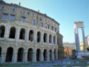 Teatro Marcello, theatre of marcellus, rome, italy, ruin